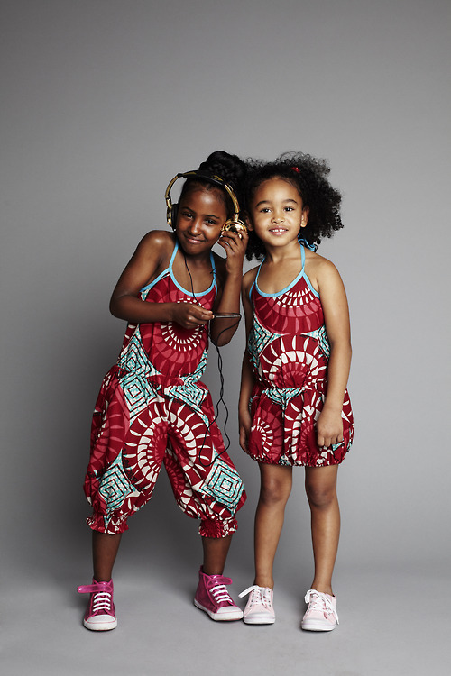 Ankara-Dresses-Jumpsuit-Style Ankara Styles for Babies-19 Adorable Ankara Dresses For Kids 2017
