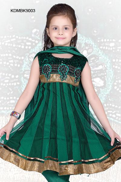 Anarkali-Frock Frock Designs for Little Girls-17 Latest Frock Styles for Kids 2017