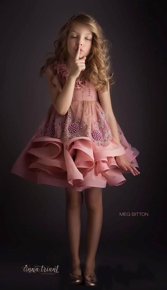 Frilly-Frock-Designs Frock Designs for Little Girls-17 Latest Frock Styles for Kids 2017