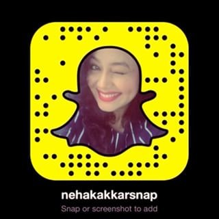 neha-kakkar Indian Celebrity Snapchats-25 Indian Celebrity Snapchat Accounts to follow