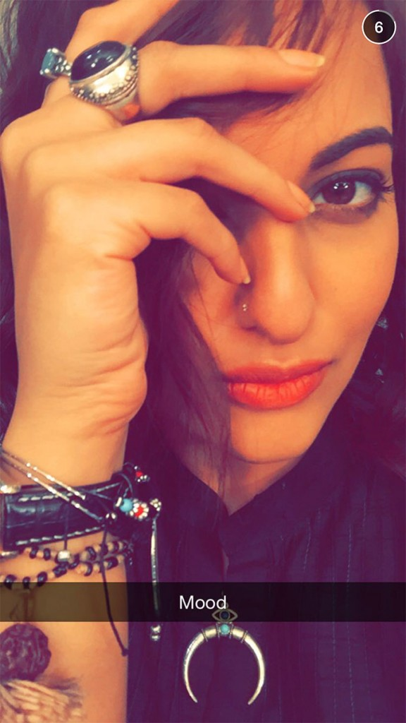 sonaakshi Indian Celebrity Snapchats-25 Indian Celebrity Snapchat Accounts to follow