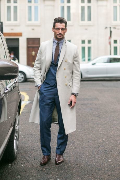 1-David-Gandy-street-style-london 50 Most Hottest Men Street Style Fashion to Follow These Days