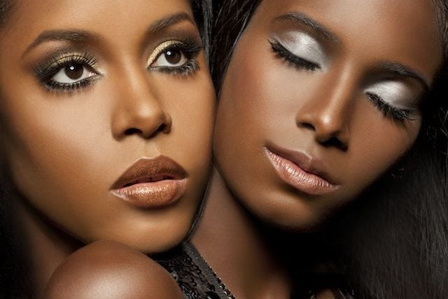 Special-Occasion-Party-Makeup Simple Party MakeUp Tips for Black Women to Look Gorgeous