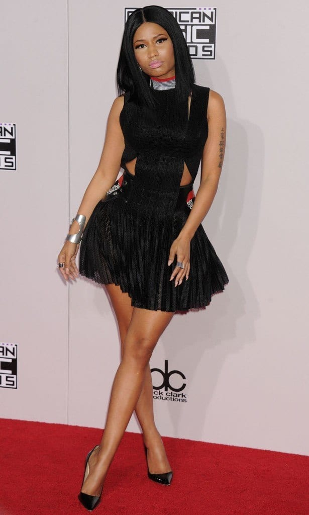 nicki-615x1024 Top 5 Designer Outfits Brands All Celebrities Wear