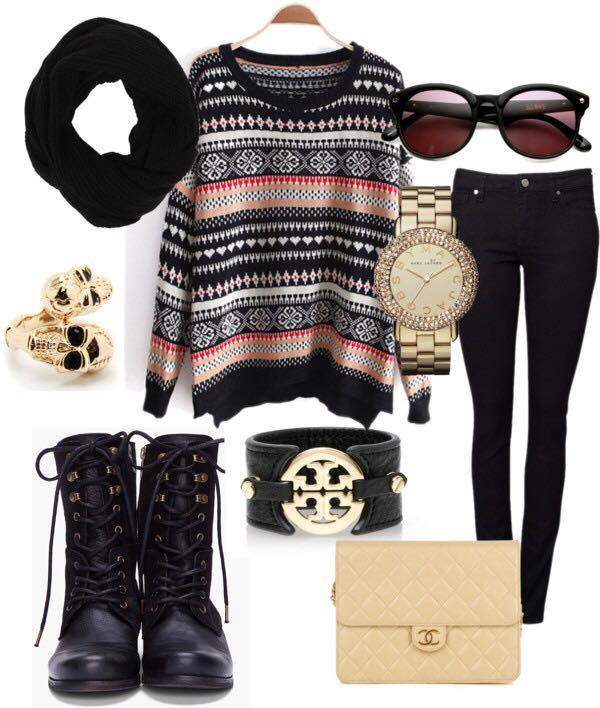 Teenage-girls-winter-date-dressing 17 Latest Style Winter Outfit Combinations for Teen Girls