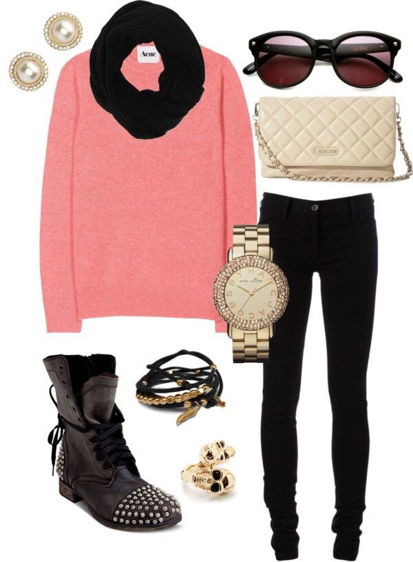 branded-outfits-for-young-fgirls 17 Latest Style Winter Outfit Combinations for Teen Girls