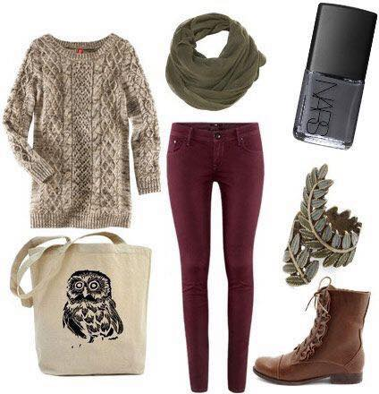 cold-weather-dressing-ideas 17 Latest Style Winter Outfit Combinations for Teen Girls