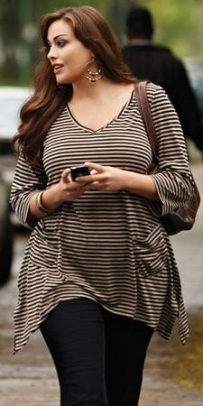 cute-hairstyles-for-plus-size-girls 27 Stunning Spring Outfits Ideas for Plus Size Ladies