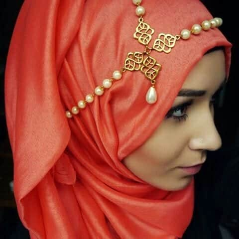 f7b940c8b53145436c2530a10939c696 Hijab Party Style-22 Elegant Ways to Wear Hijab for Parties