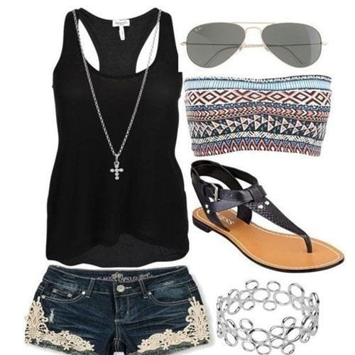 s7 15 Cute Summer Outfits for Women for Chic Look