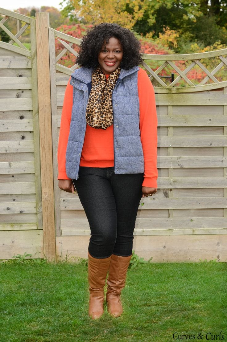 Plus Size Ladies Outfits with Skinny Jeans (4)