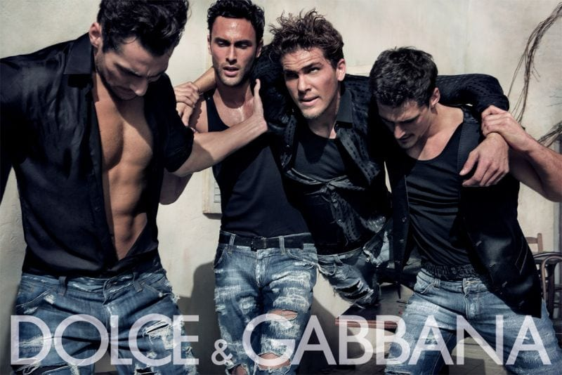 Dolce-Gabbana-Men-jeans-for-Fall-2016 Top 10 Men Fashion Brands 2017 - Men's Style - Men's Clothing