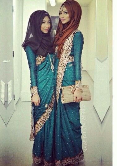 How to wear saree modestly? (23)