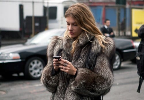 fur 25 Most Popular Winter Street Style Outfit Ideas for Women
