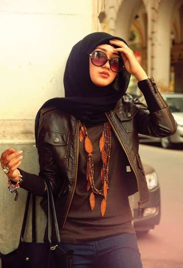 17 Cute Hijab Styles For Round Face With Simple Tutorials