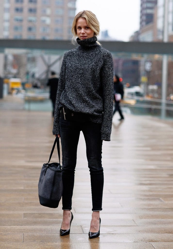 w4-713x1024 25 Most Popular Winter Street Style Outfit Ideas for Women