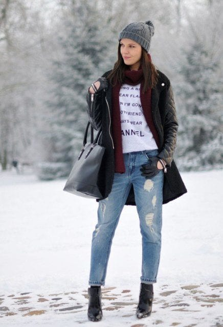 w9 25 Most Popular Winter Street Style Outfit Ideas for Women