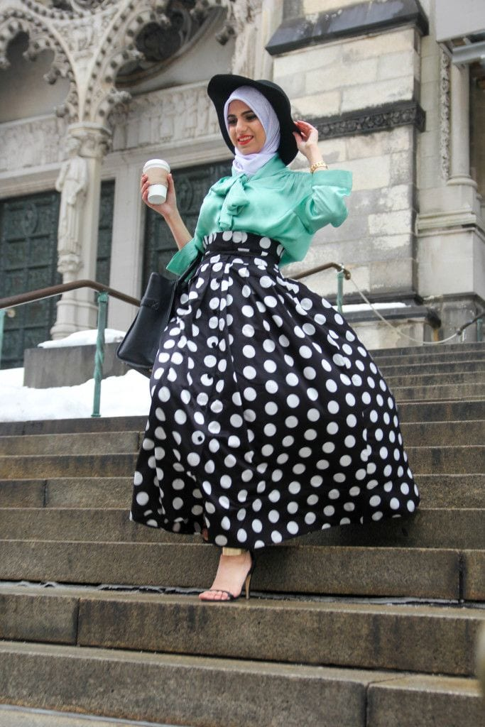 27add13973f9f68d5c3df2a998364288 Hijab Skirt outfits-24 Modest Ways to Wear Hijab with Skirts