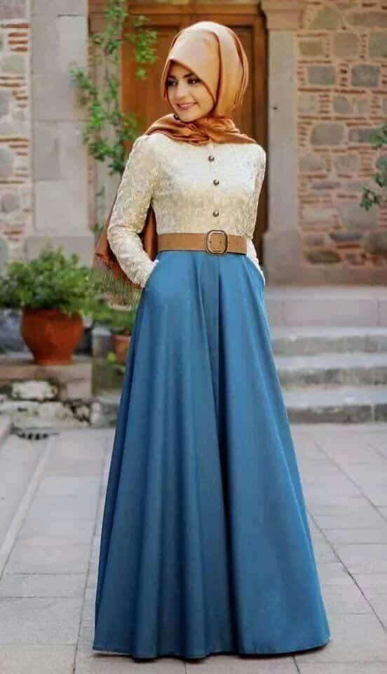2beb5f9de70b4027730737d388e070d1 Hijab Skirt outfits-24 Modest Ways to Wear Hijab with Skirts
