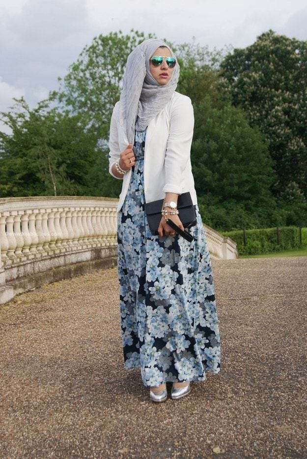 6c8846a45dc4addd29a3079eae4cf8ef Hijab Skirt outfits-24 Modest Ways to Wear Hijab with Skirts