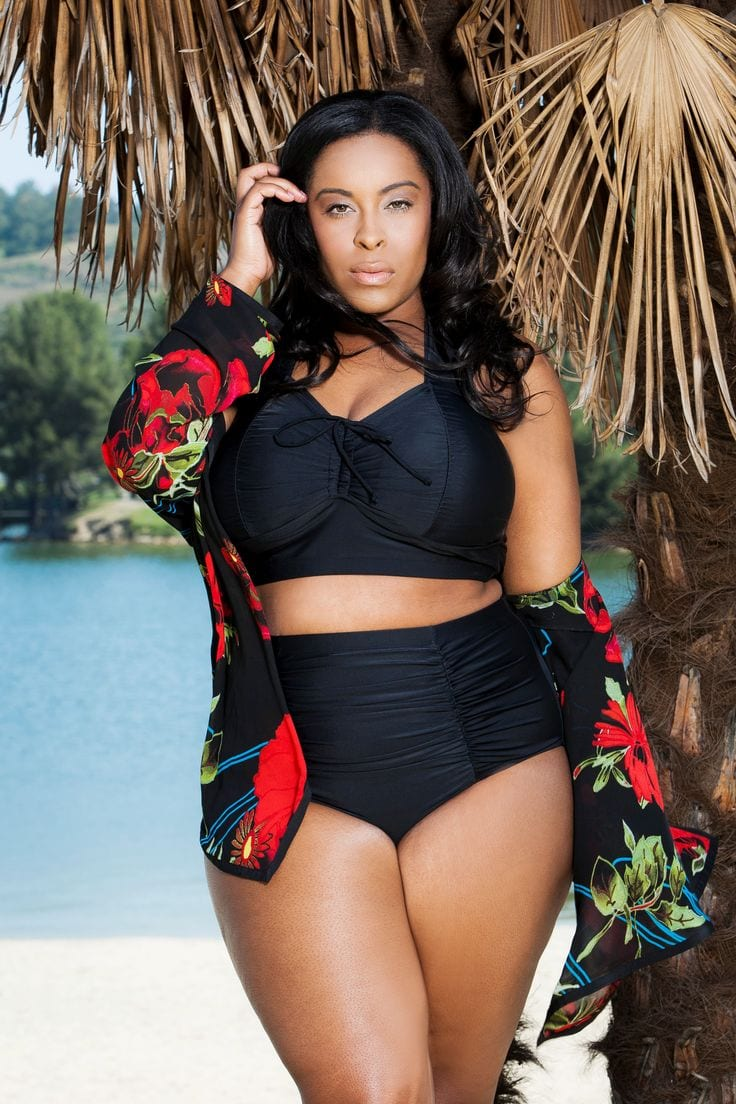 Stylish Swimwear For Black Ladies (9)