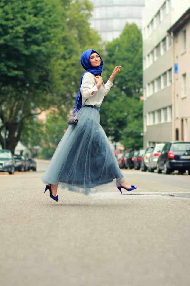 9c13d9b7b7ef375c567eea09a3c4c563 Hijab Skirt outfits-24 Modest Ways to Wear Hijab with Skirts