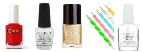 How-do-add-a-Gold-Bling-to-your-Nail-Art-500x183 Bling Nail Desings-How do add a Gold Bling to your Nail Art