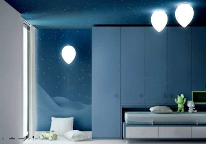 Kids-balloon-lights-665x466 Kids Room Decoration Ideas- 12 DIY Ideas Your Kids will Love