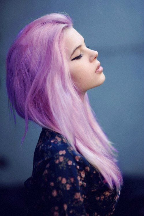 Purple-for-long-hairs Purple Hairstyles- These 50 Cute Purple Shade Hairstyles You Cant Resist Trying