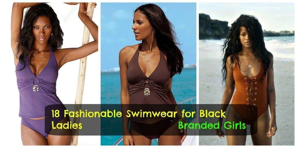 beach-wear-for-black-women-1024x512 18 Best Swimwear Outfits For Black Ladies - Bikini Style