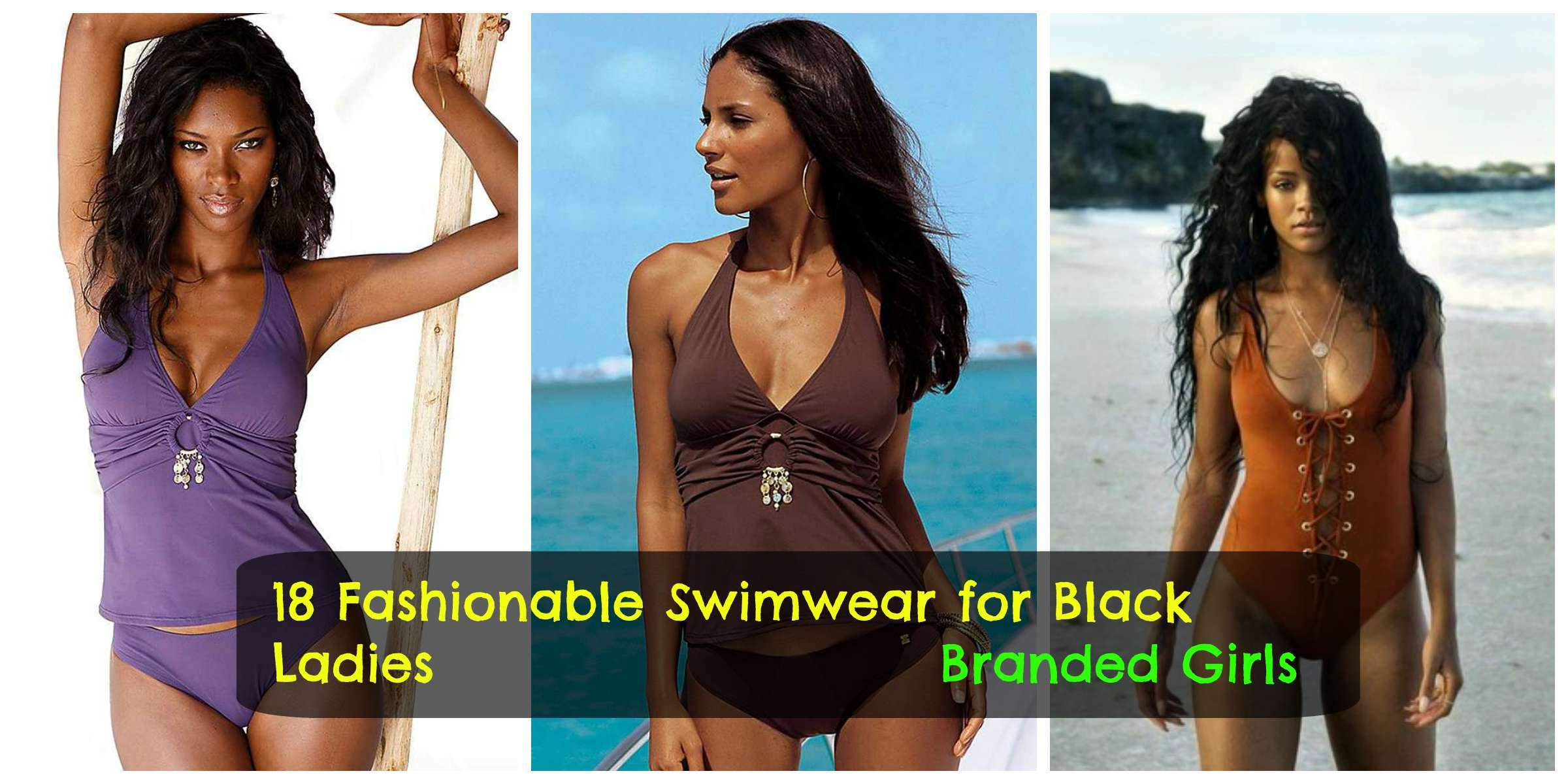 beach wear for black women