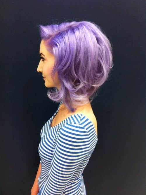 cute-colored-hairstyles Purple Hairstyles- These 50 Cute Purple Shade Hairstyles You Cant Resist Trying