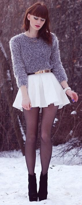 Cute Skater Skirts Outfits 20 Ways to Wear Skater Skirts