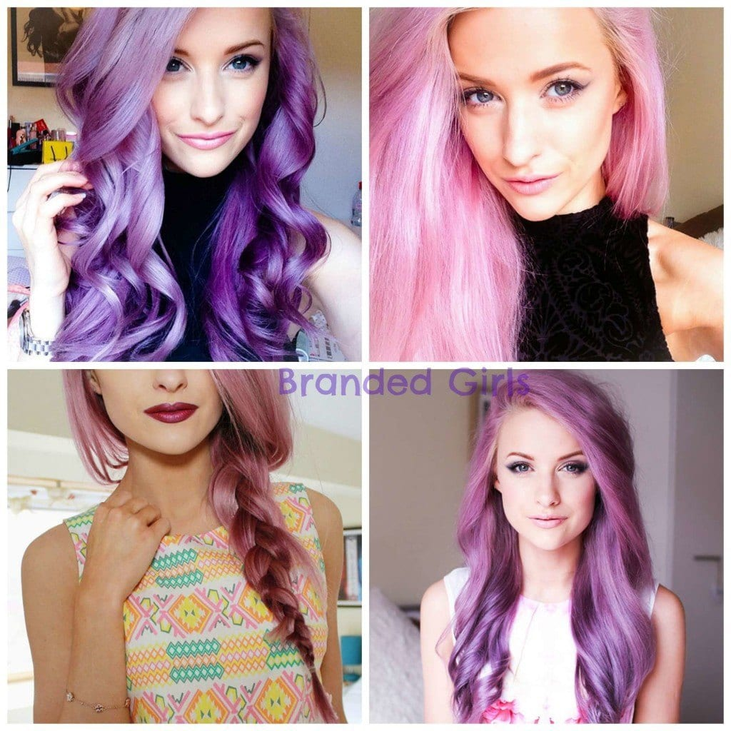 Prime Purple Hairstyles These 50 Cute Purple Shade Hairstyles You Cant Short Hairstyles Gunalazisus