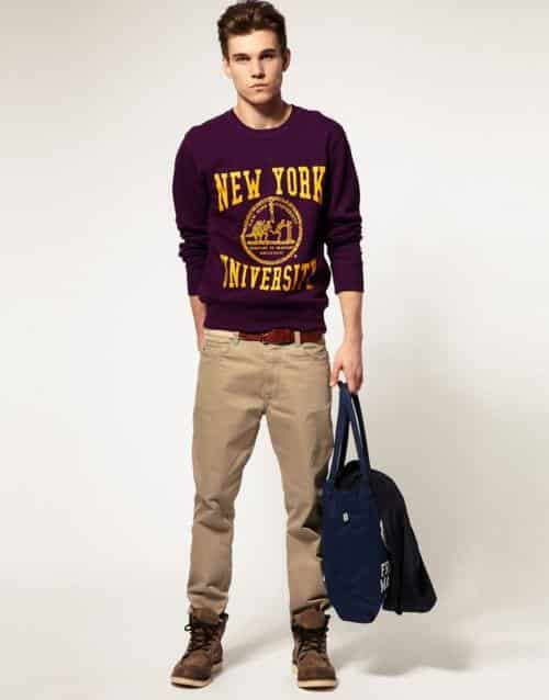 1d0b5c8463ce87034bd71970d48e9b46 15 Cute Outfits for University Guys-Hairstyles and Dressing