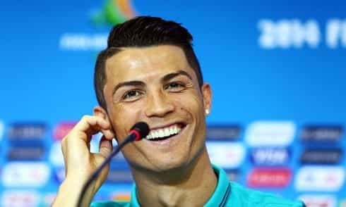 861-cristiano-ronaldo-smiling-in-world-cup-2014-press-conference Cristiano Ronaldo Hairstyles-20 Most Popular Hair Cuts Pics