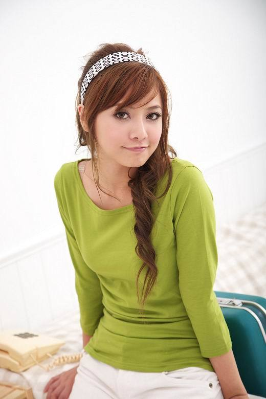 Cute_Korean_Girl-hair-styles Korean Women Fashion - 18 Cute Korean Girl Clothing Styles