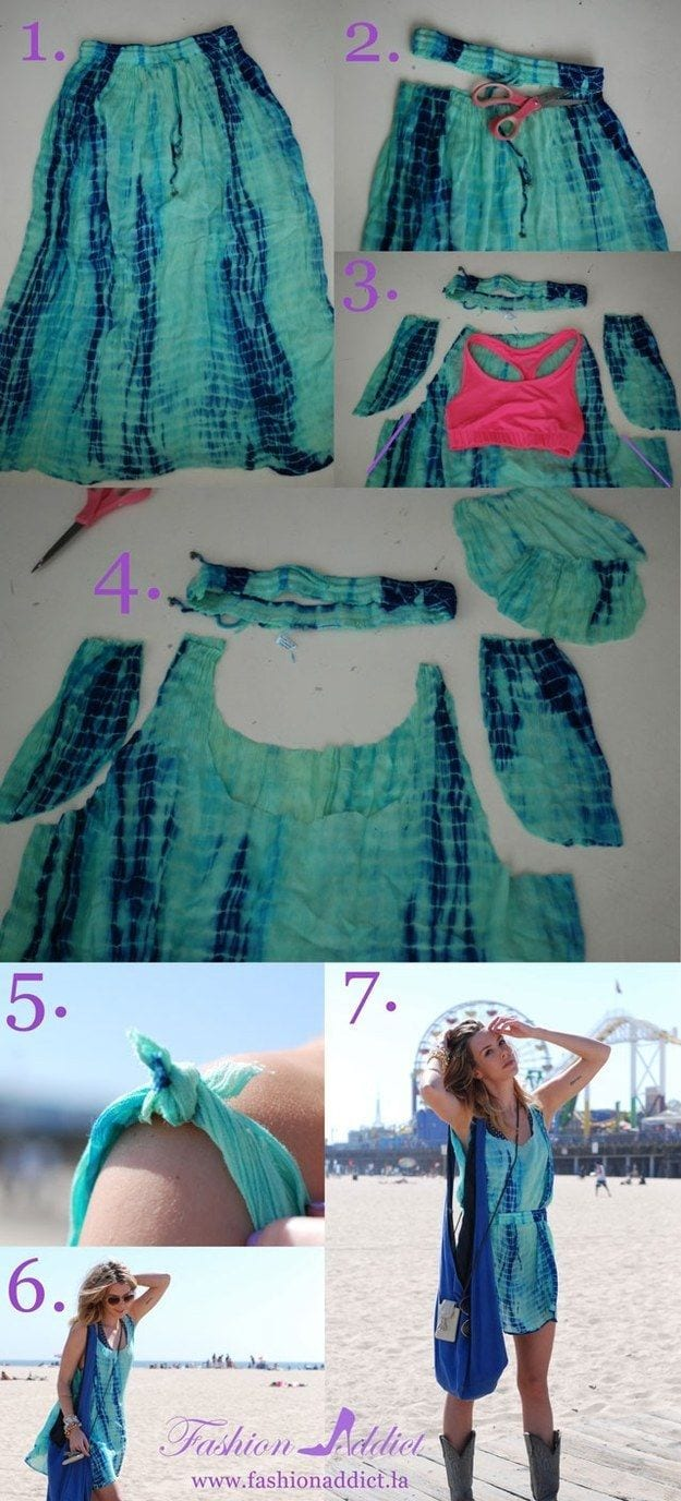 b6c0bd905c76af67f357bdcf27c5f6431 30 Easy DIY Summer Fashion Ideas With Step by Step Tutorials