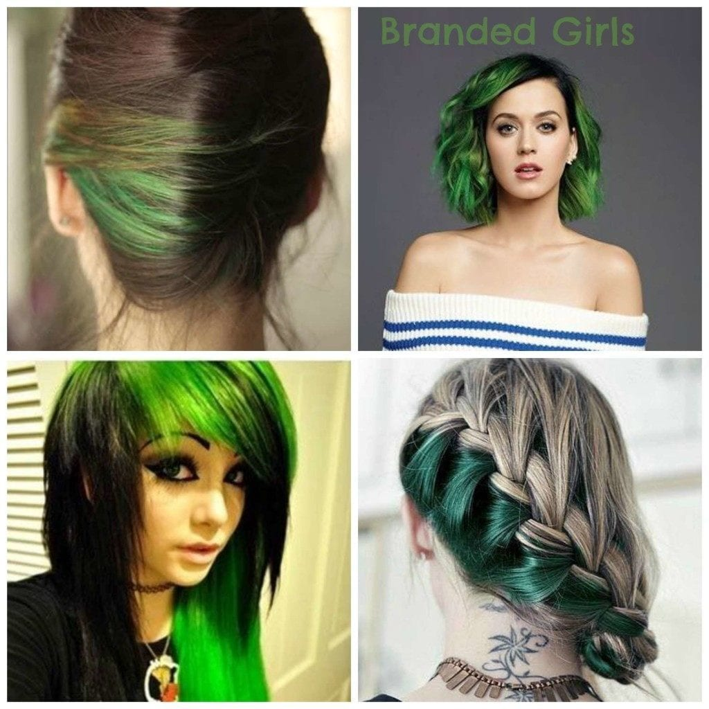 cute green hairs
