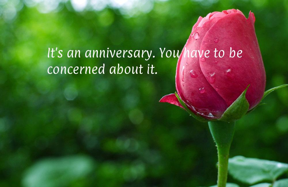 Sweet wedding anniversary quotes for husband he will love