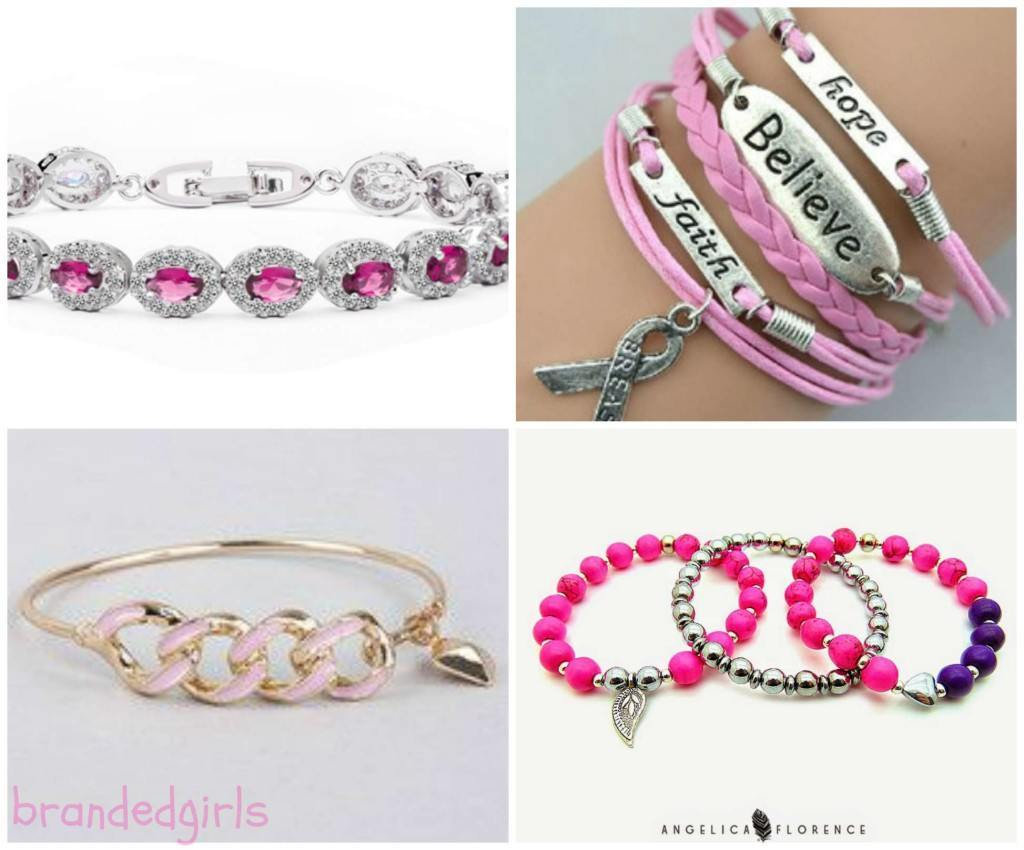 pink-bracelets-for-girls-1024x850 15 Cute Pink Accessories Every Teen Girl Needs To have These Days