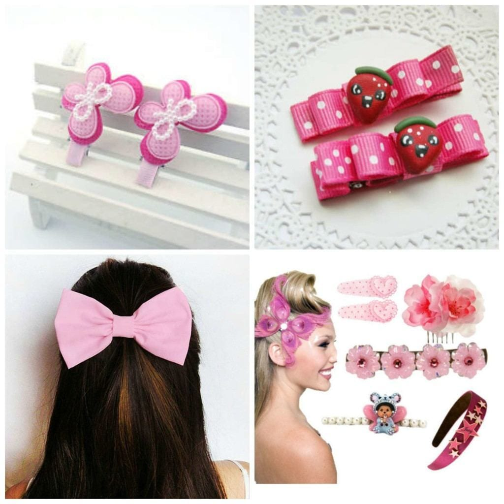 pink-hair-accessories-young-girls-1024x1024 15 Cute Pink Accessories Every Teen Girl Needs To have These Days