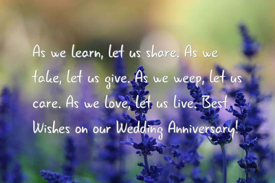 quote-for-wedding-anniversary 20 Sweet Wedding Anniversary Quotes for Husband He will Love