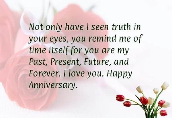 wedding-anniversary-wishes-to-husband1 20 Sweet Wedding Anniversary Quotes for Husband He will Love