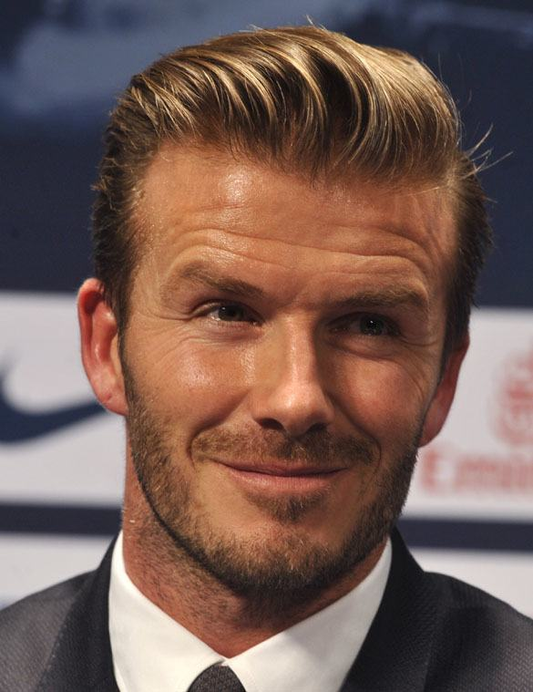 David Beckham Hairstyles 20 Most Famous Hairstyles Of All The Time