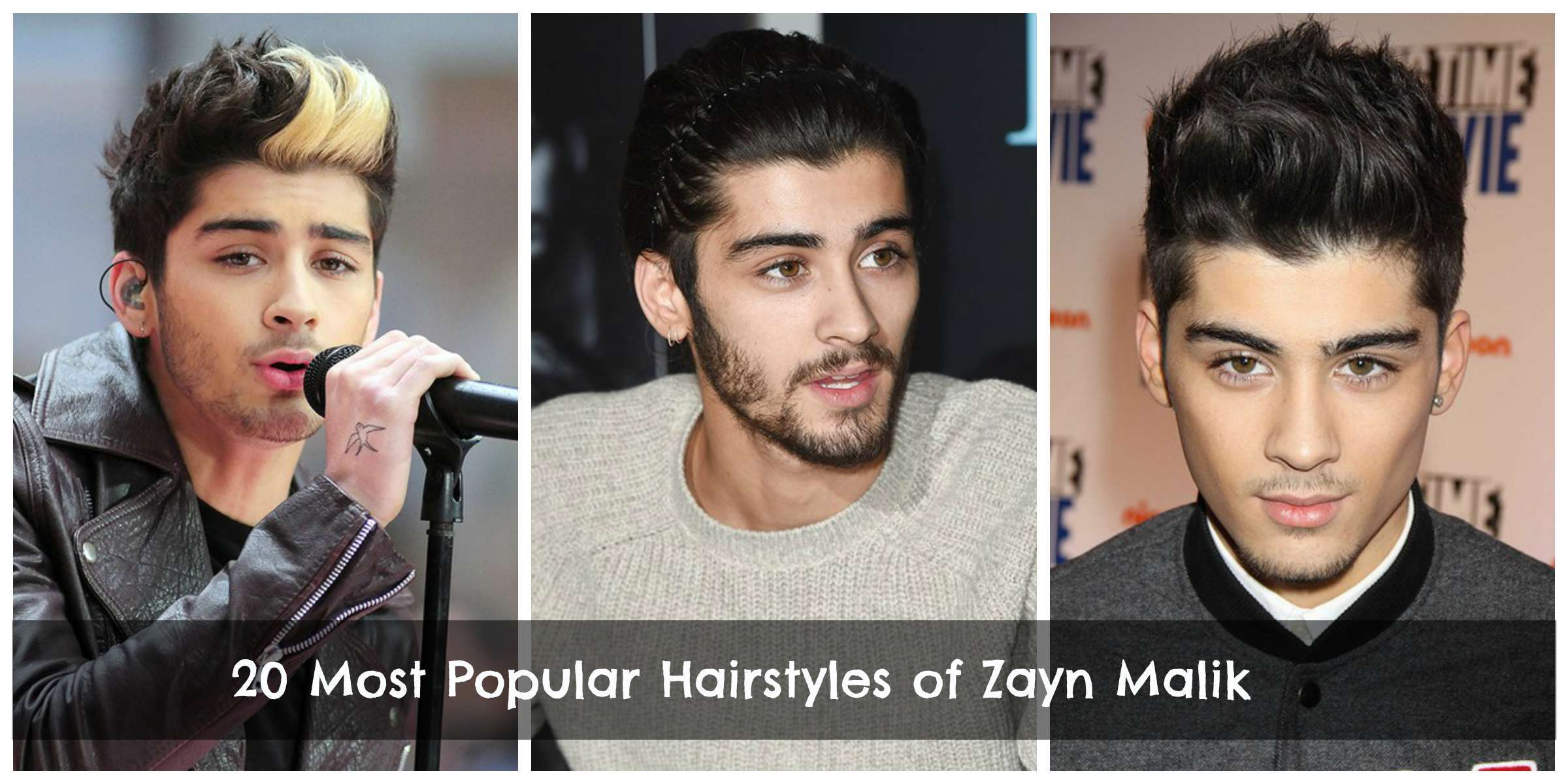 Zayn Malik Hairstyles 20 Best Hairstyles Of Zayn Malik All The Time
