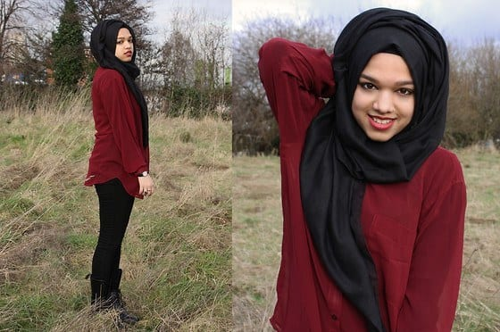 103 Hijab with Jeans–19 Modest Hijab Jeans Outfits this Season