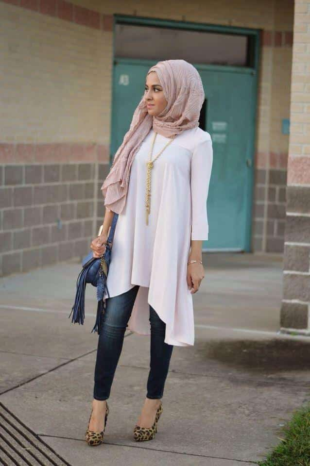 Hijab with jeans 19 modest hijab jeans outfits this season Fashion style hijab terkini