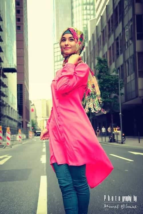 173 Hijab with Jeans–19 Modest Hijab Jeans Outfits this Season