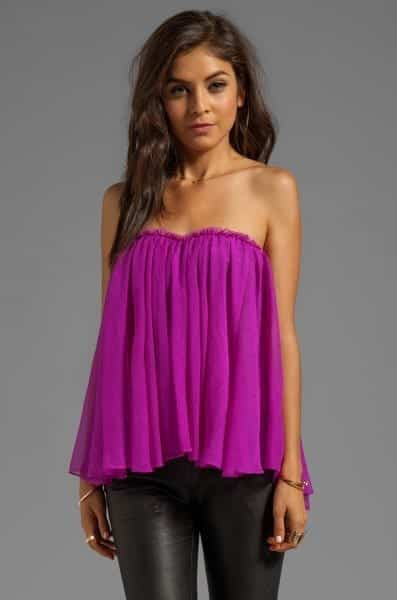 Strapless Dress Outfits 23 Ideas How To Wear Strapless Tops